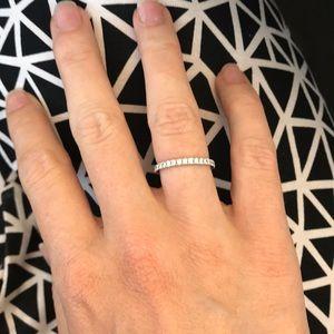 Jewelry - Genuine diamond eternity band set with .70 cts 💍